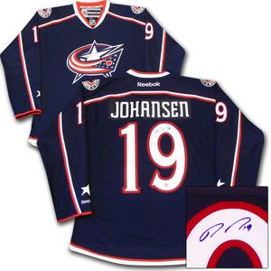 Ryan Johansen Autographed Columbus Blue Jackets Jersey (Nashville Predators)