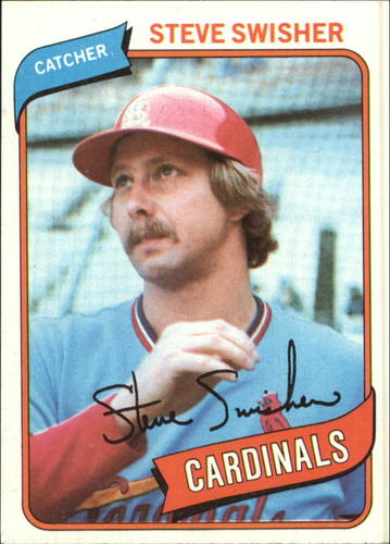 Photo of 1980 Topps #163 Steve Swisher
