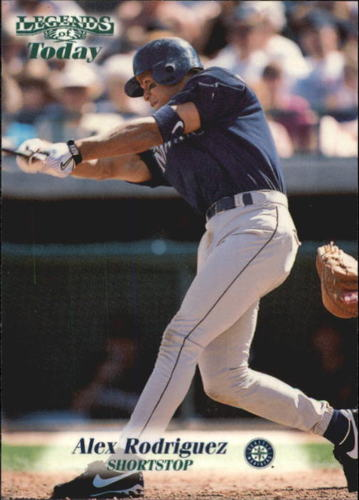 Photo of 1998 Sports Illustrated Then and Now #125 Alex Rodriguez
