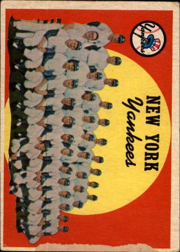 Photo of 1959 Topps #510 New York Yankees CL