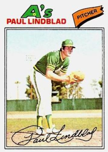 Photo of 1977 Topps #583 Paul Lindblad