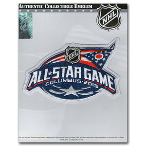 2013 NHL All-Star Game Jersey Patch (Columbus Blue Jackets)