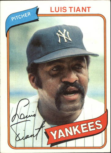 Photo of 1980 Topps #35 Luis Tiant
