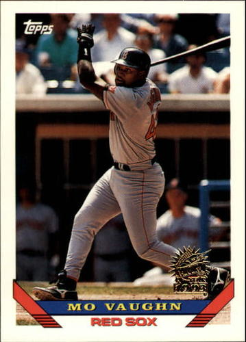 Photo of 1993 Topps Inaugural Marlins #51 Mo Vaughn