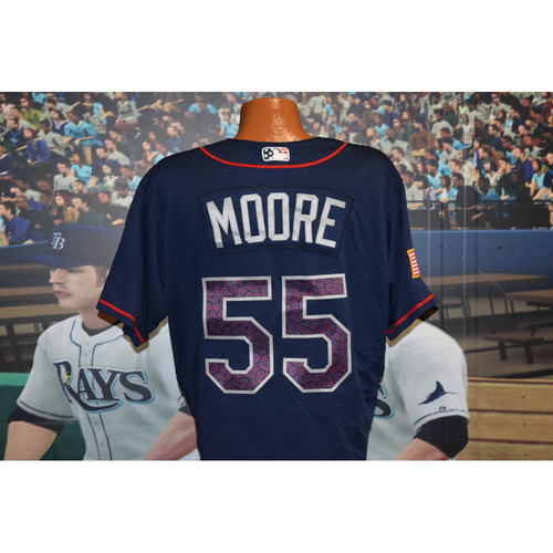 Photo of Game-Used July 4th Jersey: Matt Moore