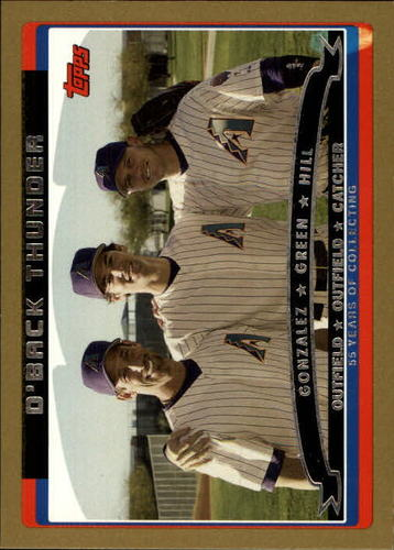 Photo of 2006 Topps Gold #657 Gonzalez/Green/Hill