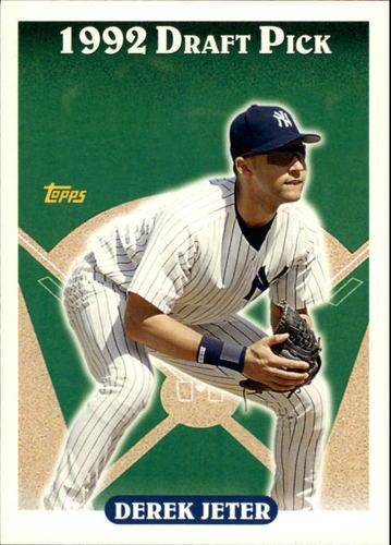 Photo of 2006 Topps Rookie of the Week #18 Derek Jeter 1993