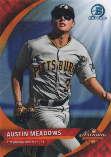 Photo of 2016 Bowman Chrome AFL Fall Stars #AFLAM Austin Meadows
