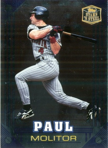 Photo of 1998 Topps Stars 'N Steel #30 Paul Molitor