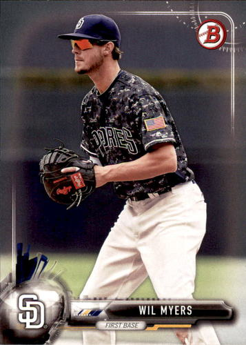 Photo of 2017 Bowman #69 Wil Myers