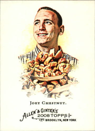 Photo of 2008 Topps Allen and Ginter #109 Joey Chestnut
