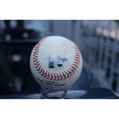 Photo of Game-Used Baseball: Salvador Perez (784th Career Hit) & Mike Moustakas (702nd Career Hit) (DET at KC - 7/18/17)
