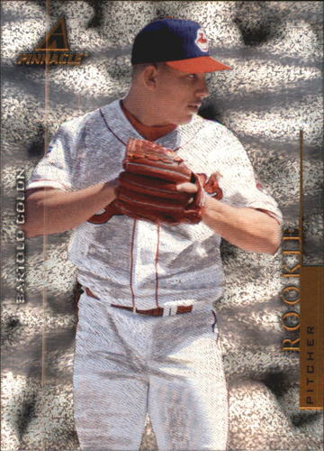 Photo of 1998 Pinnacle Museum Collection #PP81 Bartolo Colon -- Twins post-season
