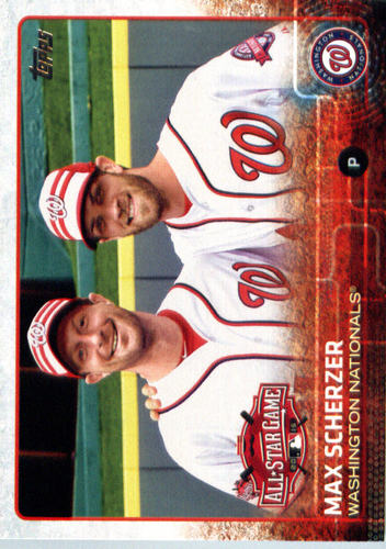Photo of 2015 Topps Update #US300 Max Scherzer