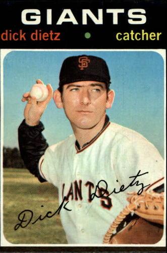 Photo of 1971 Topps #545 Dick Dietz