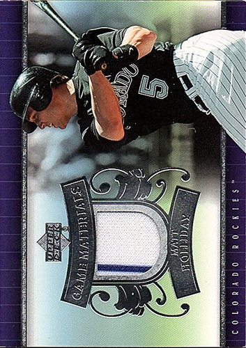 Photo of 2007 Upper Deck UD Game Materials #MH Matt Holliday Jersey