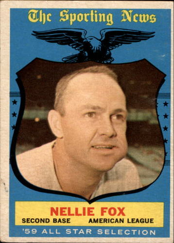 Photo of 1959 Topps #556 Nellie Fox AS