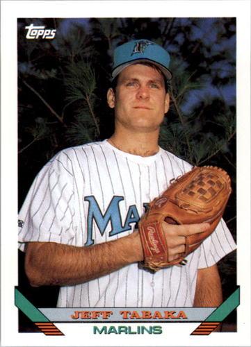 Photo of 1993 Topps #586 Jeff Tabaka RC