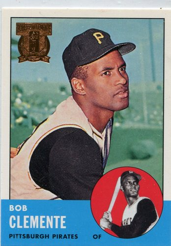Photo of 1998 Topps Clemente #9 Roberto Clemente 1963