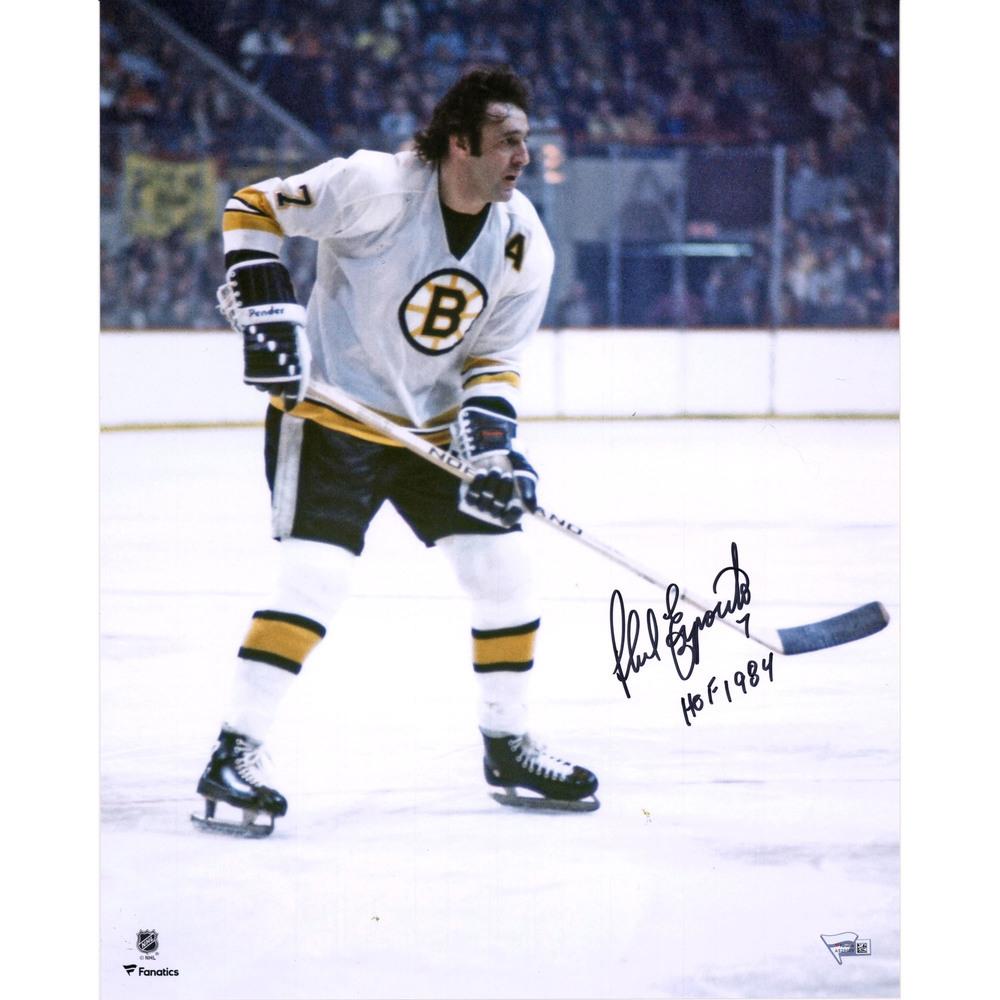 Phil Esposito Boston Bruins Autographed 16