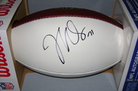 NFL - REDSKINS TRENT WILLIAMS SIGNED PANEL BALL