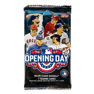 2017 MLB Opening Day Baseball Cards by Topps