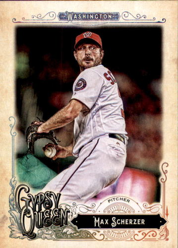 Photo of 2017 Topps Gypsy Queen #289A Max Scherzer