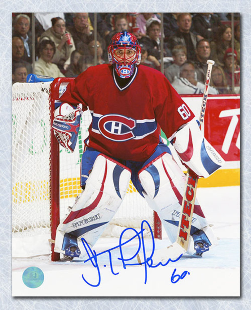 JOSE THEODORE Montreal Canadiens AUTOGRAPHED 11X14 Photo