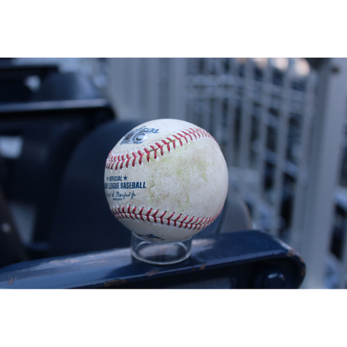 Photo of Game-Used Baseball: Byron Buxton 13th Career Triple & 193rd Hit (MIN at KC - 9/10/17)