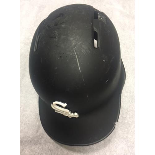 Photo of Avisail Garcia Game-Used Black Matte Batting Helmet
