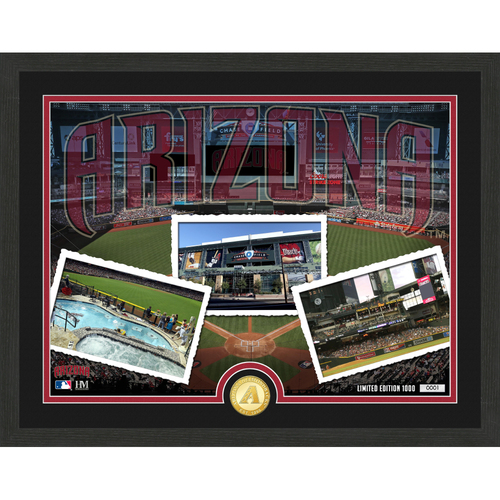"Photo of Arizona Diamondbacks ""Team Pride"" Bronze Coin Photo Mint - MLB.com Auctions Exclusive"