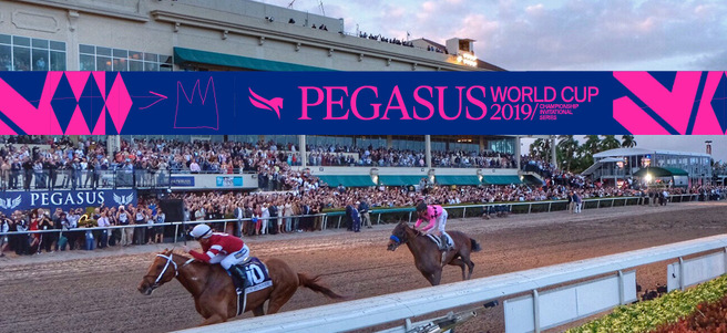 PEGASUS WORLD CUP HORSE RACE (TEN PALMS PREMIUM TICKETS) - PACKAGE 2 of 3