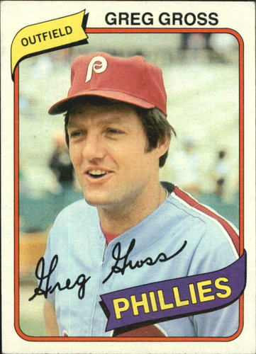 Photo of 1980 Topps #718 Greg Gross