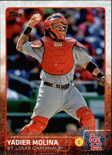 Photo of 2015 Topps #647 Yadier Molina