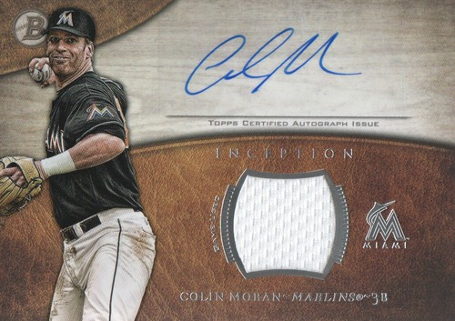 Photo of 2014 Bowman Inception Relic Autographs #ARCM Colin Moran