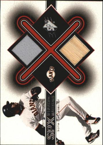 Photo of 2001 SPx Winning Materials Bat-Jersey #BB2 Barry Bonds