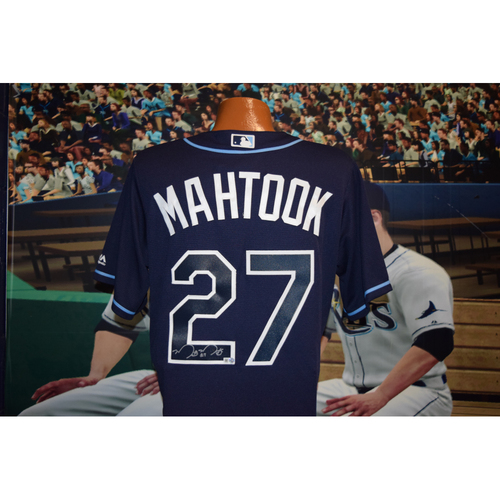 Photo of Autographed Team-Issued Jersey:  Mikie Mahtook