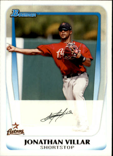 Photo of 2011 Bowman Prospects #BP110 Jonathan Villar Pre-Rookie Card