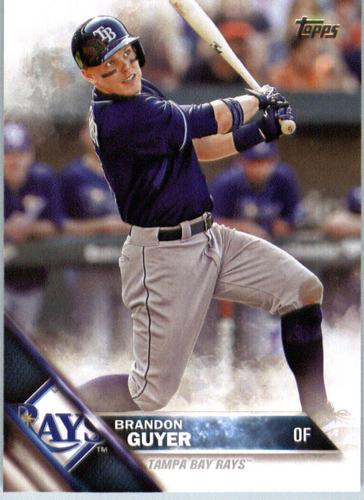 Photo of 2016 Topps #654 Brandon Guyer -- Indians post-season