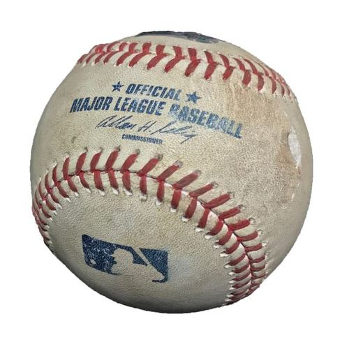 Photo of Game-Used Baseball from Pirates vs. Cubs on 9/23/13 - Pirates Clinch Postseason Berth