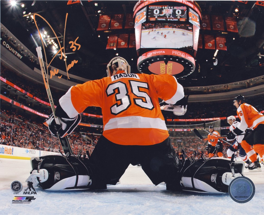 STEVE MASON Philadelphia Flyers AUTOGRAPHED 8X10 Photo