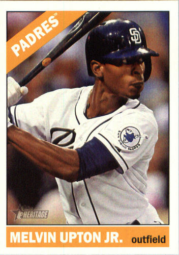 Photo of 2015 Topps Heritage #619 Melvin Upton Jr.