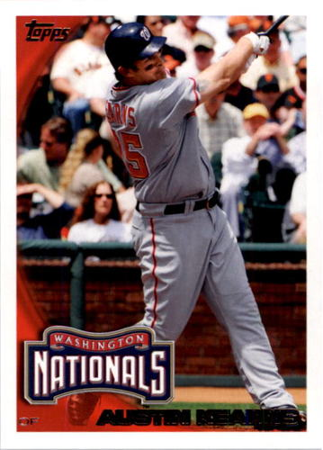 Photo of 2010 Topps #291 Austin Kearns