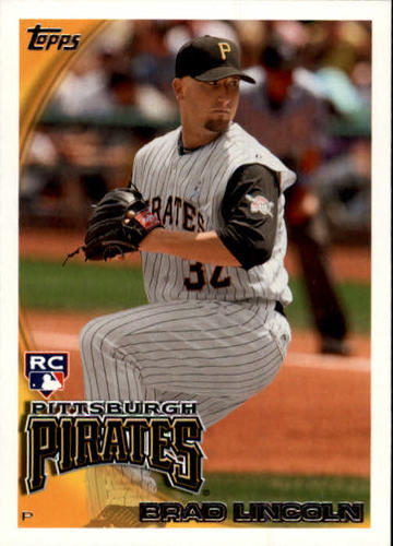 Photo of 2010 Topps Update #US115 Brad Lincoln RC