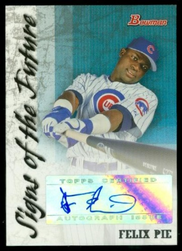 Photo of 2007 Bowman Signs of the Future #FP Felix Pie