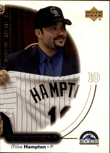 Photo of 2001 Upper Deck Ovation #60 Mike Hampton
