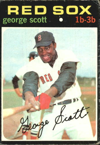 Photo of 1971 Topps #9 George Scott