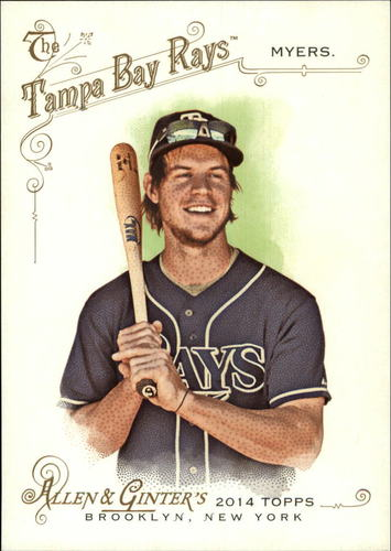 Photo of 2014 Topps Allen and Ginter Oversized Reprint Cabinet Box Toppers #ORCBLWM Wil Myers