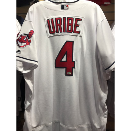 Photo of Juan Uribe Team-Issued Home Jersey
