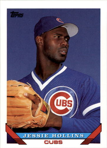 Photo of 1993 Topps #487 Jesse Hollins